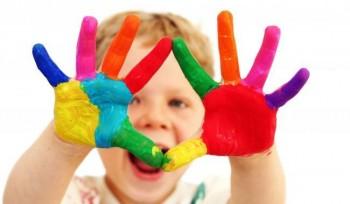 Corso di creatività e pittura per bambini