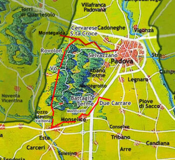 CASTELLI (al di là delle città murate) in Provincia di Padova