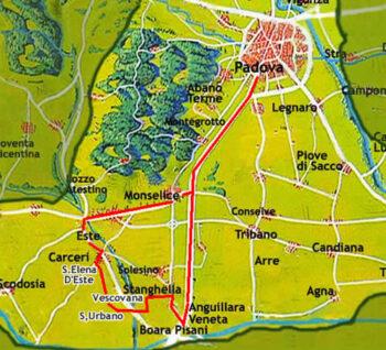 PADOVA ZONA SUD-OVEST (ville e musei)