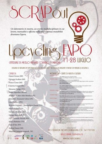 Il lungo weekend con SCRAPout: Upcycling Expò
