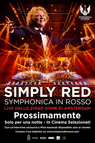 Simply Red Simphonica in Rosso