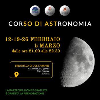 Corso di astronomia pubblico