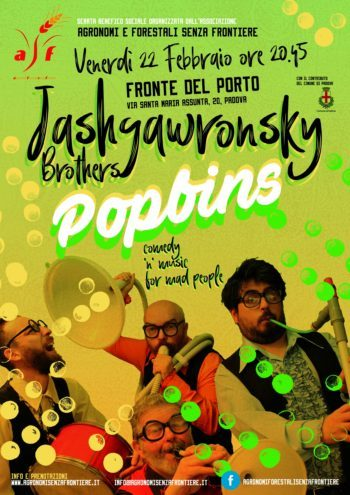 "Jashgawronsky Brothers ""Popbins"""