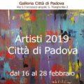 Artisti 2019. Città di Padova