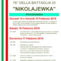76esimo anniversario della Battaglia di Nikolajewka