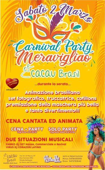 Carnival Party Meravigliao