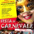 Festa di Carnevale con la Scuola Ballaora