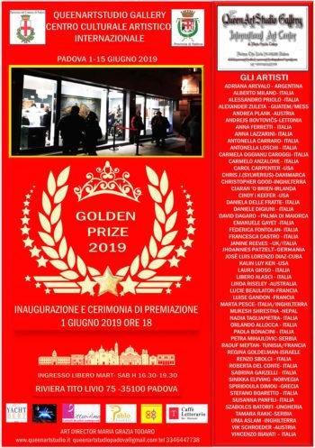 Cerimonia di premiazione e inaugurazione Golden Prize 2019
