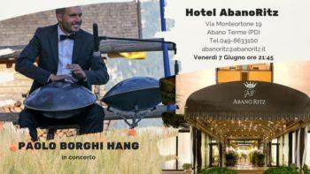 Concerto di Hang-Handpan del musicoterapista Paolo Borghi.