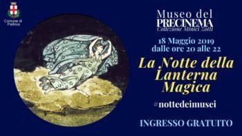 Notte europea musei 2019: museo del Precinema