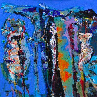 Mostra di pittura BLU
