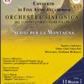 """Concerto di Fine Anno Accademico """"Suoni per la Montagna""""."""
