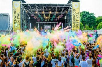 Holi allo Sherwood per la festa dei colori più grande d'Italia