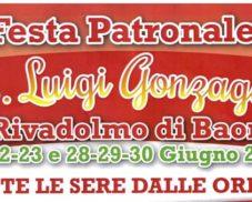 Festa patronale San Luigi Gonzaga 2019