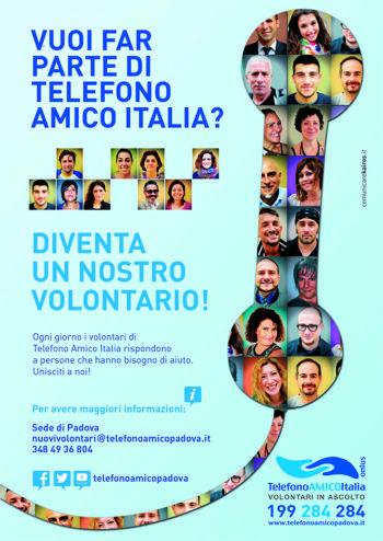 Telefono Amico Padova: unisciti a noi!