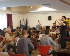 LA MUSICA DELL'OPV RISUONA NEGLI ISTITUTI DI RIPOSO PER ANZIANI
