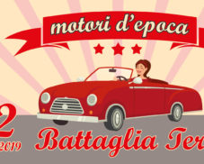 Motori d'epoca all'Antica Fiera di San Bartolomeo a Battaglia Terme