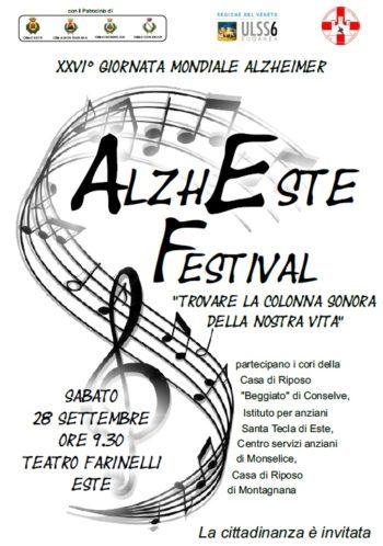 """AlzhEste Festival, """"trovare la colonna sonora della nostra vita"""""""
