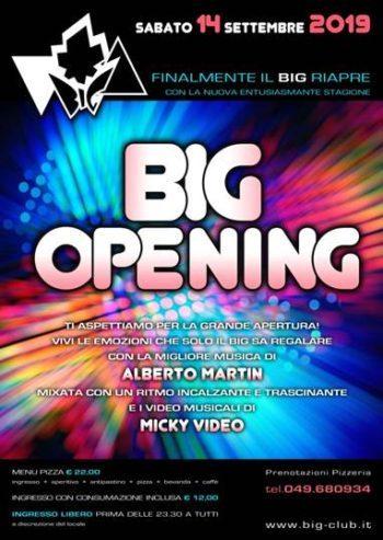 Party di Apertura Big Club Padova