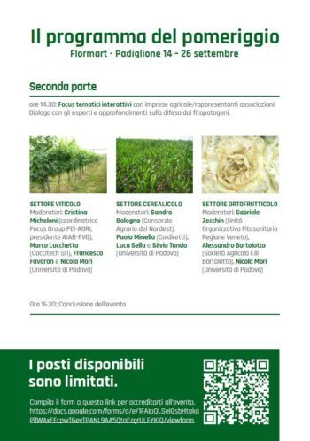 Agricoltura sostenibile e attenta all'ambiente