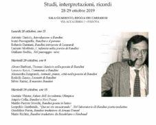 Per Fernando Bandini: studi, interpretazioni, ricordi
