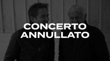 Annulato il concerto di Michel Portal e Roberto Negro