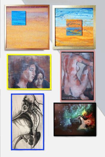 Emotional diffusione: rassegna di pittura