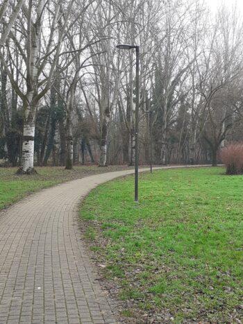 Nuova illuminazione per il Parco IRIS