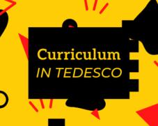 Il curriculum in tedesco – Workshop online