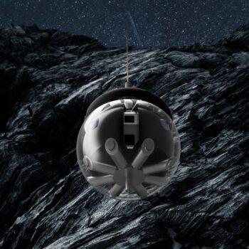 Una sfera per esplorare le grotte lunari