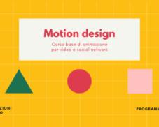 Motion design – Animazione e social network