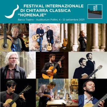 """Primo Festival Internazionale di Chitarra classica """"Homenaje"""""""