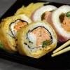 Sushi e bollicine in corte