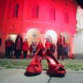 Il Teatro Verdi di Padova si illumina di rosso