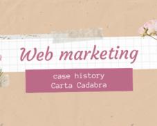 Web marketing e realtà artigiane – Case history di Carta Cadabra