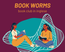Book worms – Book club in inglese