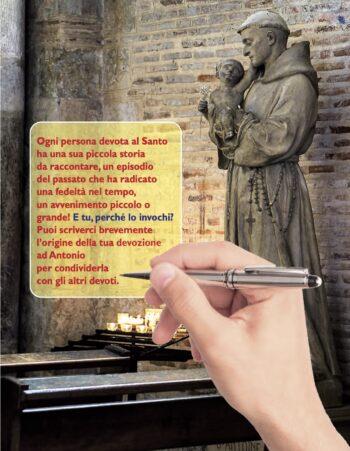 """Caro Sant'Antonio…"""