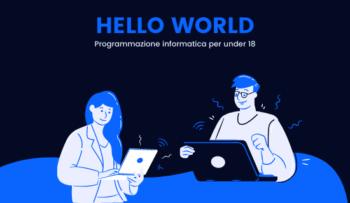 Corso di programmazione informatica per under 18
