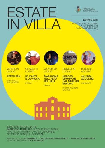 Estate in Villa!