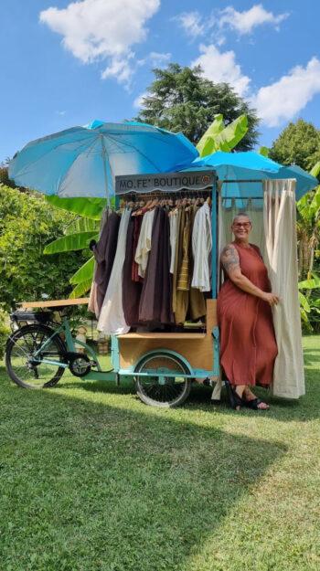 """Una """"Cargobike"""" ovvero un Negozio Mobile"""